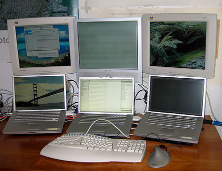 New Computer System With Six Computers