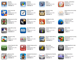 Apps for your iPad Rental