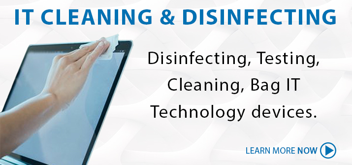 IT Cleaning & Disinfection Service
